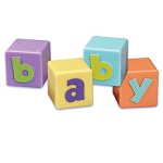Pastel Baby Blocks Set