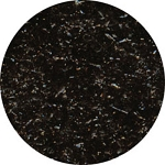 Black Edible Glitter 1/2oz.