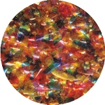 Rainbow Edible Glitter 1/2oz.