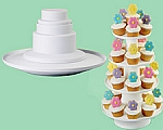 4-tier Stacked Dessert Tower
