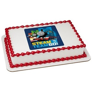 Thomas & Friends™ Steam Team Go! Photocake® Image