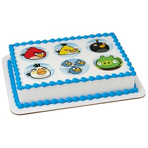 Angry Birds™ Bird Is the Word Photocake® Image