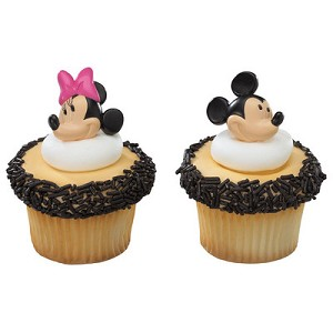 Mickey & Minnie Mouse Rings -Pack of 12