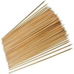 "10"" Bamboo Skewers -100 pc."
