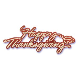 Happy Thanksgiving Script