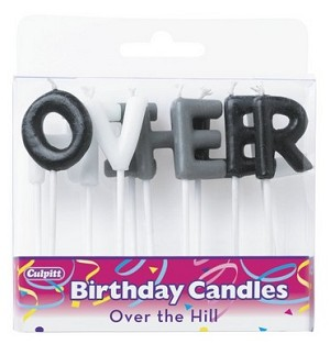 Over The Hill Candles