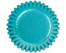Blue Foil Candy Cups(75)