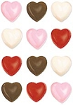BITE-SIZED HEART CHOCOLATE MOLD