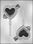 HEART WITH ARROW CHOCOLATE MOLD