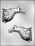3-D SIDE-VIEW BUNNY CHOCOLATE MOLD