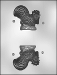 3-D ROOSTER CHOCOLATE MOLD