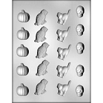 Halloween Variety Chocolate Mold