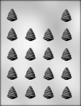 EVERGREEN TREES CHOCOLATE MOLD