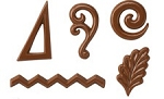 DESSERT ACCENTS CHOCOLATE MOLD