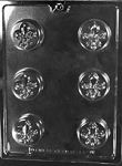 FLUER DE LIS CHOCOLATE COOKIE MOLD