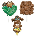 Monkey Chocolate Sucker Mold