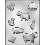 Farm Animal Chocolate Mold