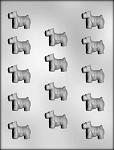 Mini Scotty Dog  Chocolate Mold