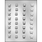 Butterflies and Bears Chocolate Mold
