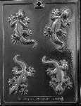 Lizzard Chocolate Mold