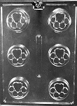 Paw Print Chocolate Cookie Mold