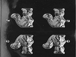 Squirrel Chocolate Mold