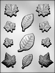 Leaves Assortment Chocolate Mold