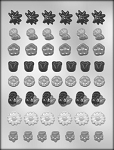 MINI FLOWER LAY-ONS CHOCOLATE MOLD