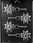 Daisy Sucker Chocolate Mold