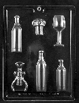 Wine Assortment Chocolate Mold