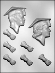GRADS & DIPLOMAS CHOCOLATE MOLD
