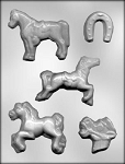 HORSE ASSORTMENT CHOCOLATE MOLD