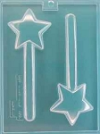 STAR WAND PRETZEL CHOCOLATE MOLD