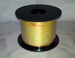 Yellow Irridescent Curling Ribbon 250 yds.