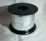 Silver Metallic Curling Ribbon 250 yds.