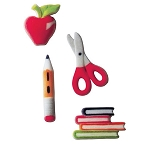 School Assortment Dec-Ons® (8 pieces)