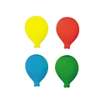 Bold Balloon Assortment Dec-Ons®(16 pieces)