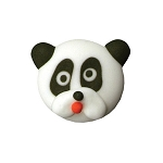 Panda Royal Icing Decorations (6 pieces)