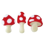 Toadstool Assortment Dec-Ons® (12 piece)