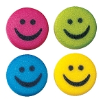 Medium Happy Faces Assortment Dec-Ons® (12 pieces)