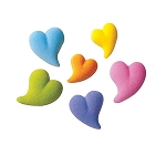 Teardrop Heart Assortment Dec-Ons® (12 pieces)