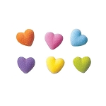 Rainbow Heart Charms Assortment Dec-Ons® (36 pieces)
