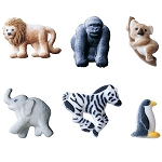 Mini Zoo Animals Assortment Dec-Ons® (12 pieces)