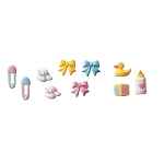 Deluxe Baby Assortment Dec-Ons® (12 piece)