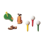 Golf Assortment Dec-Ons® (20 pieces)