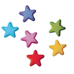 Rainbow Stars Charms Assortment Dec-Ons® (36 pieces)