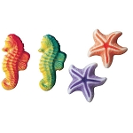 Sea Assortment Dec-Ons® (8 pieces)