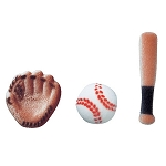 Baseball Assortment Dec-Ons® (12 pieces)