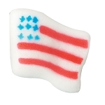 Small American Flag Dec-Ons® (12 pieces)