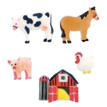 Farm Animals Assortment Dec-Ons® (8 pieces)